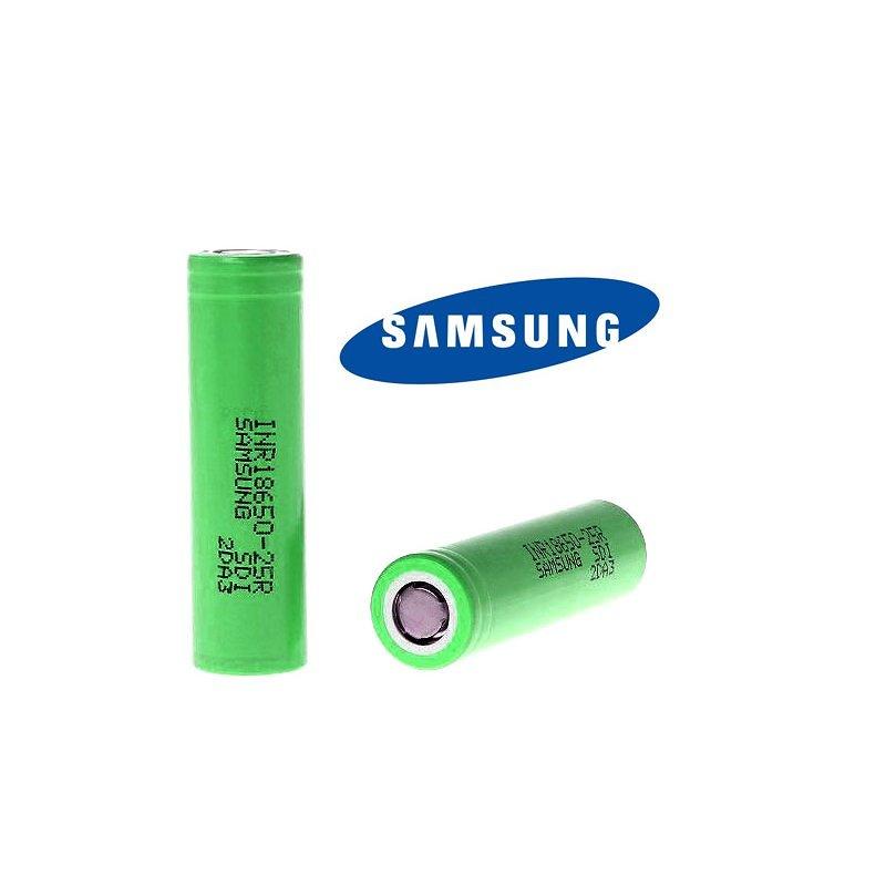 Samsung-INR18650-25R-36V-2500mAh-Li-Ion-Zelle